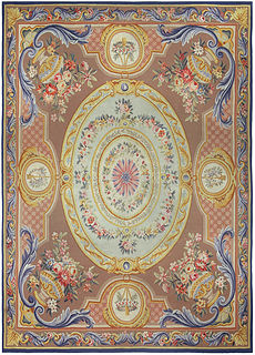 A French Aubusson Rug BB5215