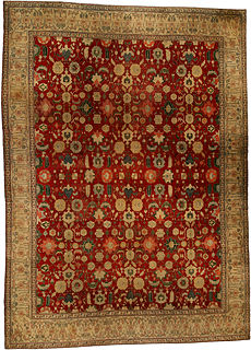 An Indian Agra rug BB4353
