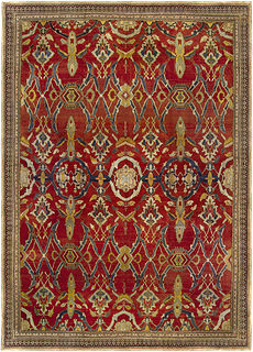 An Indian Agra Rug BB5109