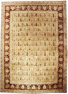 An Indian Amritsar rug BB2017