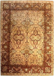 An Indian Amritsar carpet