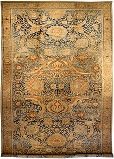 An Indian Amritsar rug BB2595