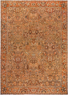 An Indian Amritsar rug BB0852