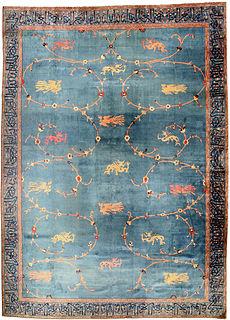 An antique Indian rug BB4527