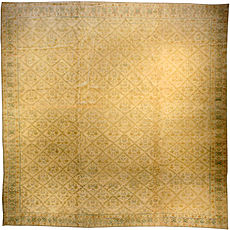 An Indian Cotton Agra rug BB1344