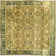 An Indian rug BB3146