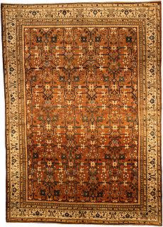 An Indian rug BB4429