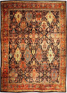 A Persian Bidjar rug (size adjusted) BB0688