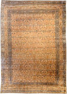 A Persian Kirman carpet
