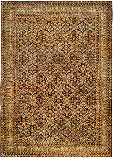 A Persian Kirman rug BB0274