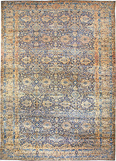 A Persian Kirman Rug ( size adjusted) BB0631