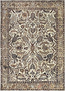 A Persian Meshad rug BB3398