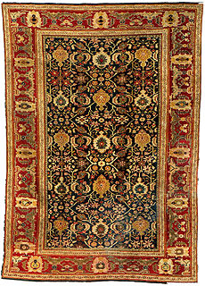 A Persian Sultanabad rug BB1350