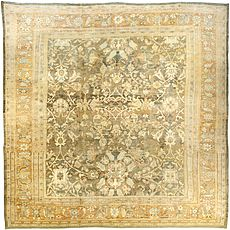 A Persian Sultanabad rug BB3899