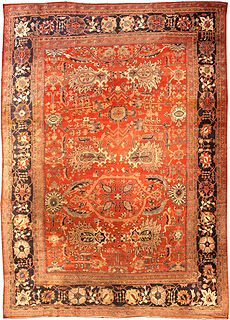 A Persian Sultanabad carpet BB1600