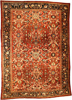A Persian Sultanabad rug BB0470