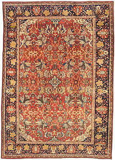 A Persian Sultanabad carpet BB0722