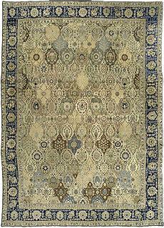 A Persian Tabriz rug BB3191