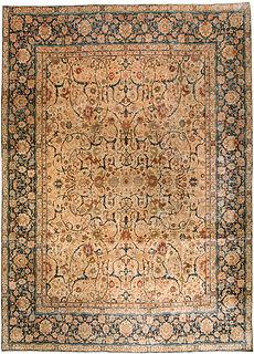 A Persian Tabriz rug BB3489