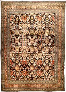 A Persian Tabriz rug BB4493
