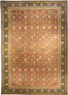 A Persian Tabriz rug BB3327