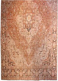 A Persian Tabriz rug BB3584