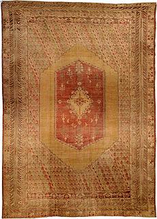 A Turkish Ghiordes carpet
