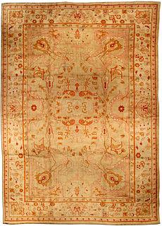 A Turkish Oushak rug BB0951