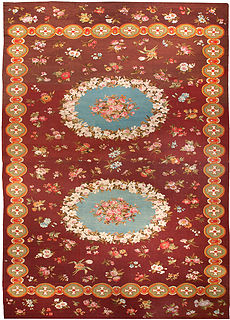 A French Aubusson carpet BB0195
