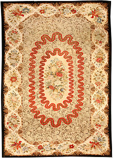 A needlepoint carpet BB0648