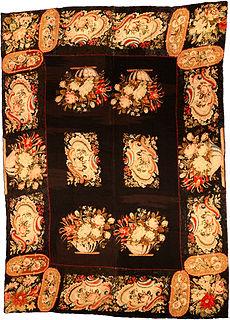 A Needlepoint rug (fragment) BB4432
