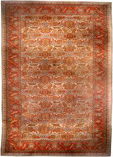 An English Axminster carpet BB1162