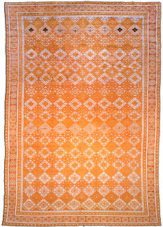 An Indian Cotton Agra rug BB1843