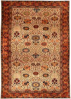 An Indian rug BB4513