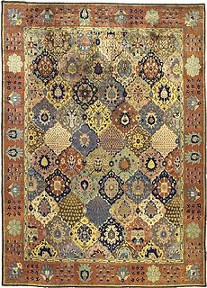 An Indian rug BB3462