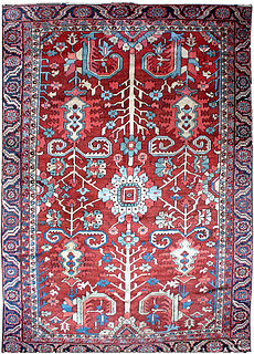 A Persian Heriz rug BB1044