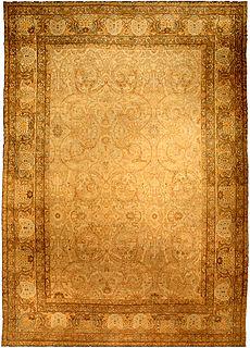A Persian Kirman rug BB4128
