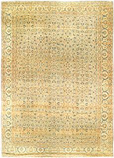 A Persian Kirman rug