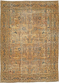 A Persian Kirman rug BB3197