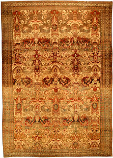 An antique Persian Malayer rug BB4512