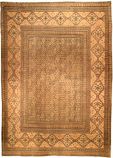 An antique Persian Meshad rug BB4543