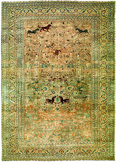 A Persian Meshad carpet BB2724