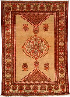 An antique Sarouk rug BB4198