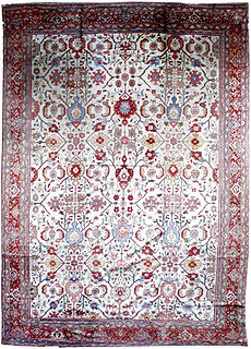 A Persian Sultanabad rug BB1280