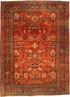 A Persian Sultanabad rug BB3198