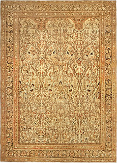 A Persian Tabriz rug (size adjusted) BB4818