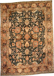 Persian Tabriz rug BB3764
