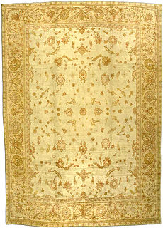 A Turkish Oushak rug BB2704