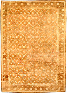 A Turkish Oushak rug BB3836
