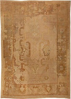 A Turkish Oushak Rug BB5445